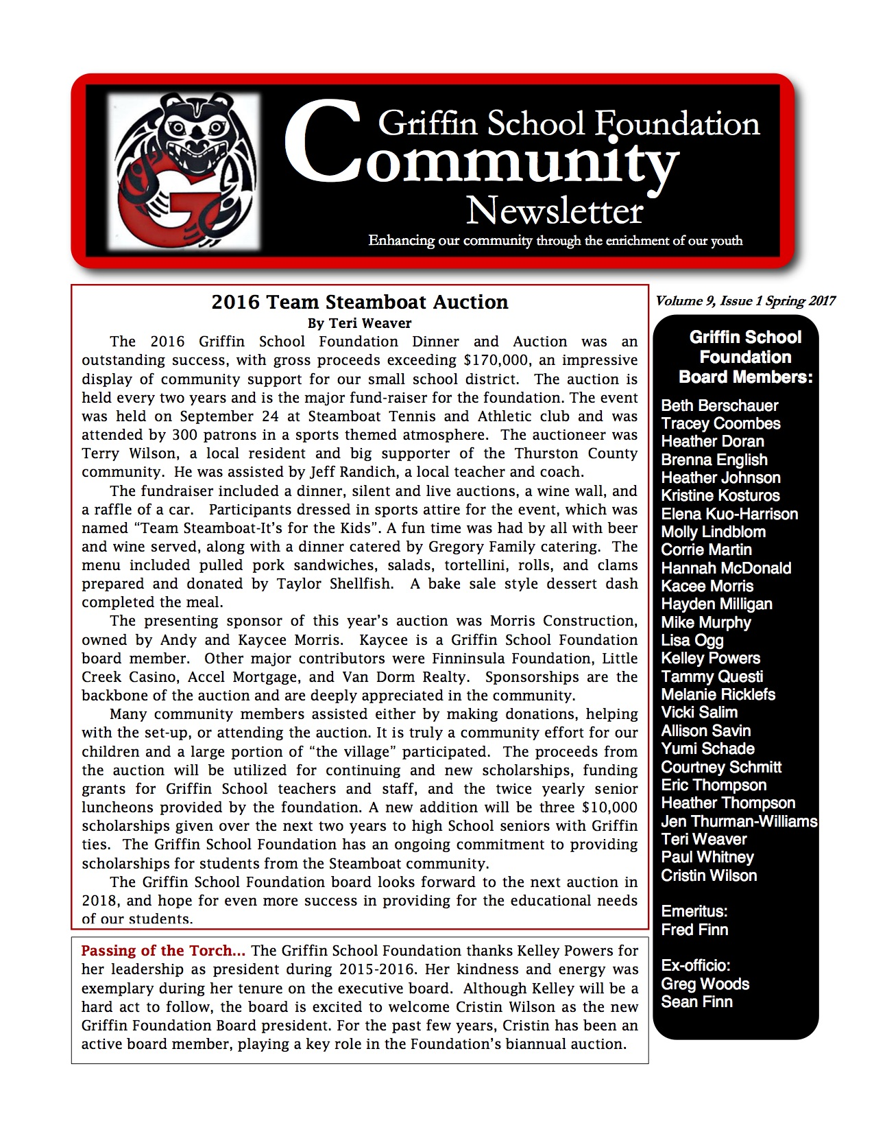 Spring 2017 newsletter pg 1 copy